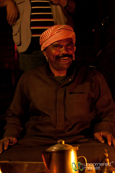Smile from the Arabic Coffee Master - Wadi Rum, Jordan