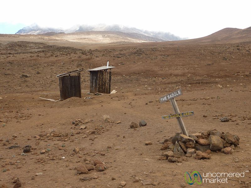 Lonely Outhouses - Mt. Kilimanjaro, Tanzania