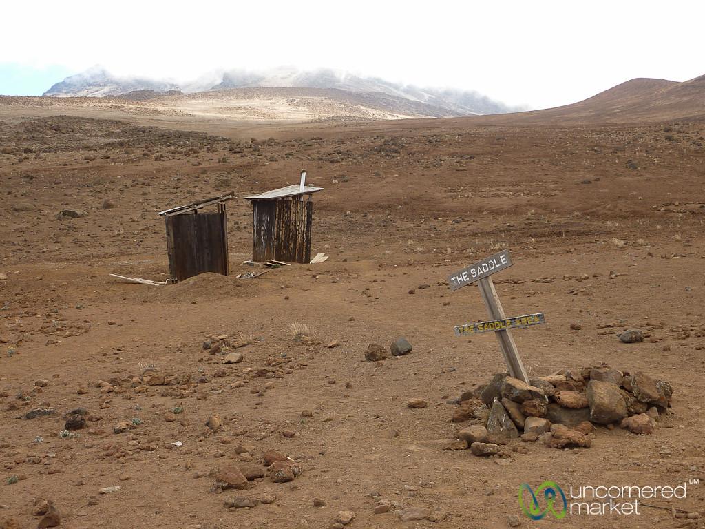 Lonely Outhouses - Mt. Kilimanjaro, Tanzania