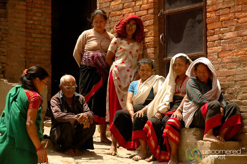 Waiting Around - Bakhtapur, Nepal