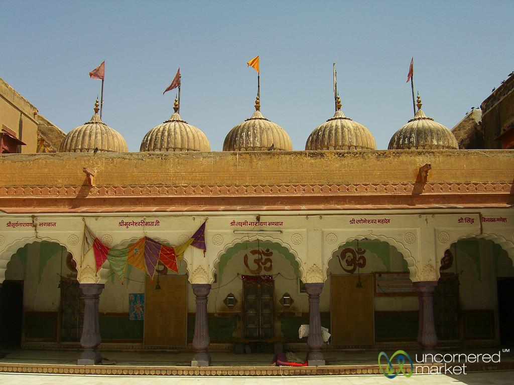 Domed Temple in Bikaner, India