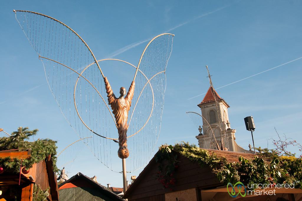 Angels at Ludwigsburg Christmas Market - Baden-Württemberg, Germany