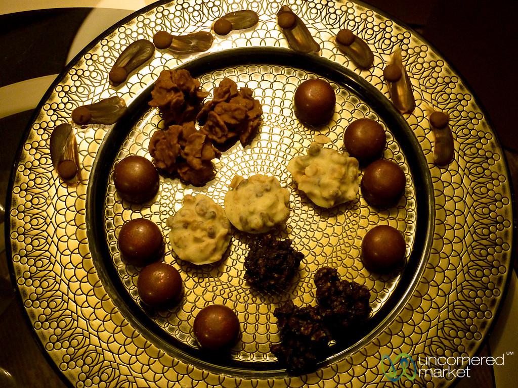 Evening Chocolates at the Four Seasons Amman - Jordan