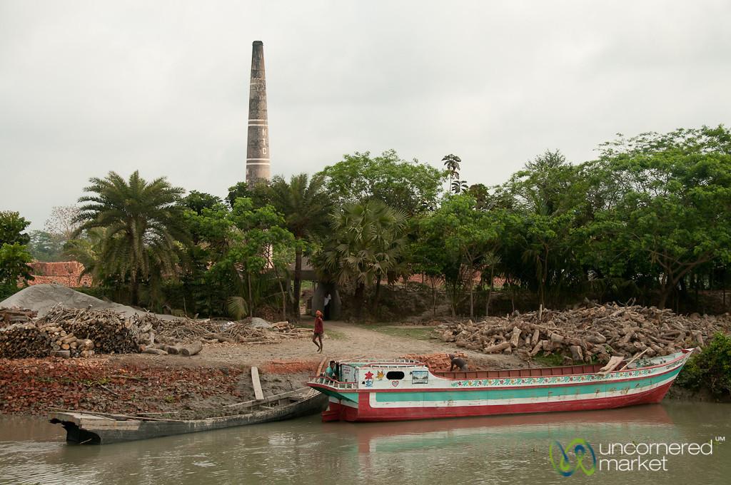 Brick Fields Along the River - Bangladesh