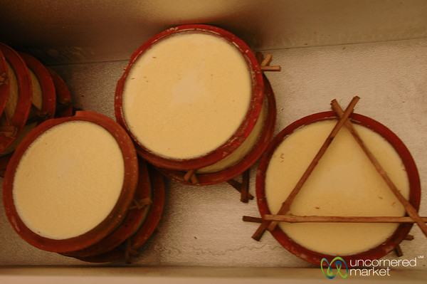 Homemade Yogurt in Bakhtapur, Nepal