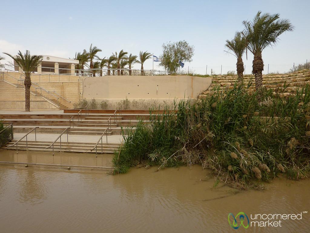 Jordan River as the Border = Rather Close Neighbors