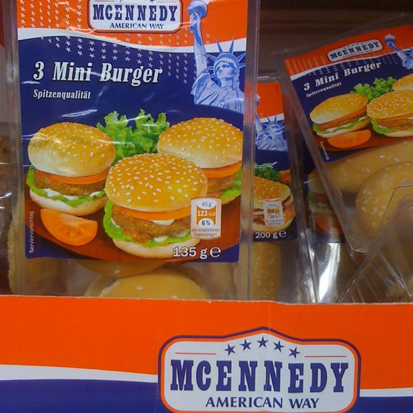 Good old American food-hamburgers