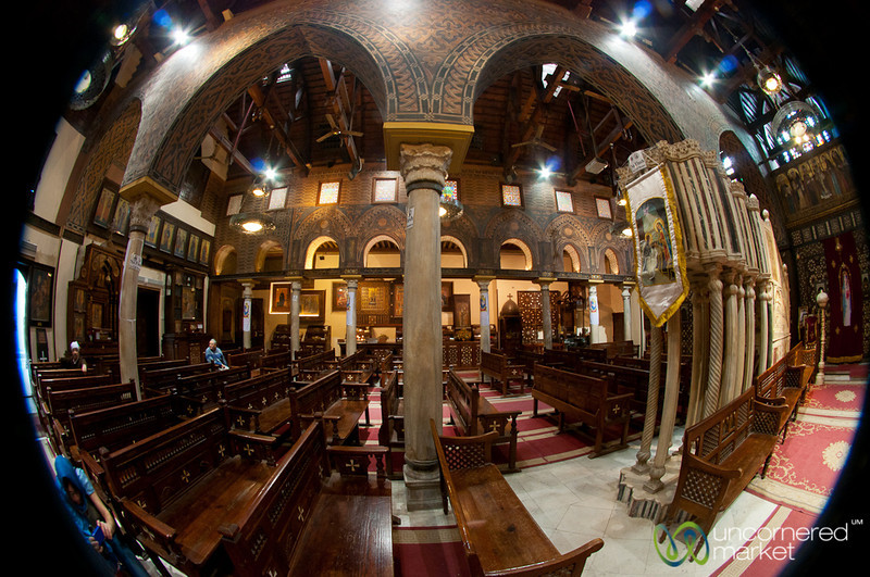Hanging Church in Coptic Cairo, Egypt