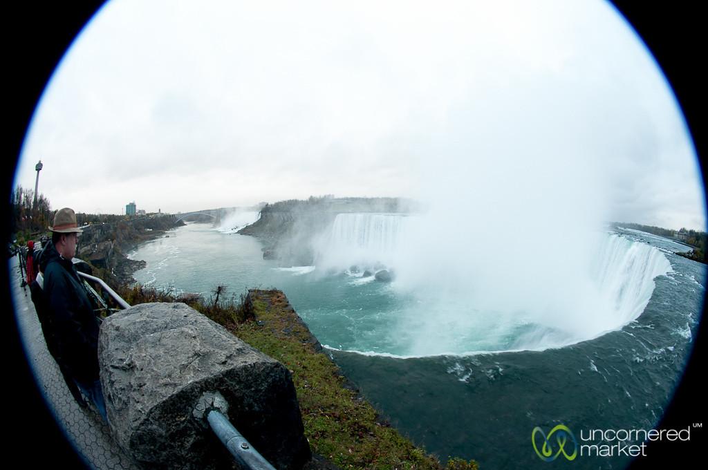 Enjoying the View at Niagara Falls, Canada