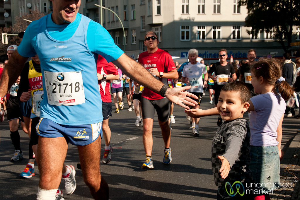Berlin Marathon - Young Supporters