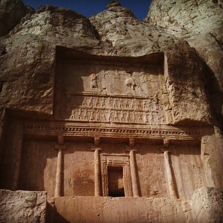 Tomb of Darius the Great, Persepolis.