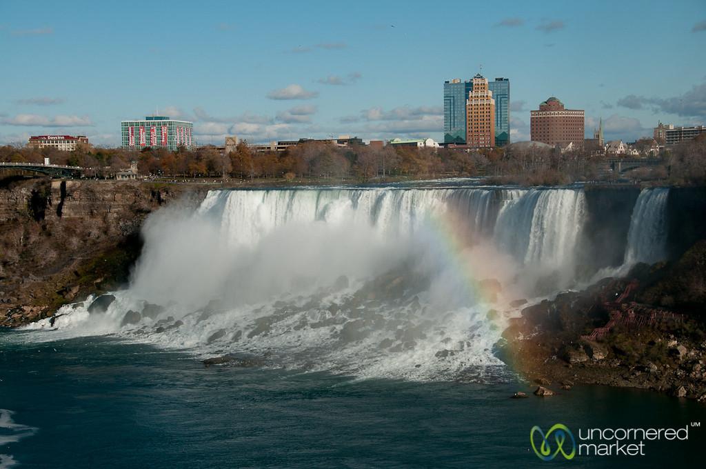 Rainbow Over Niagara Falls - Canada