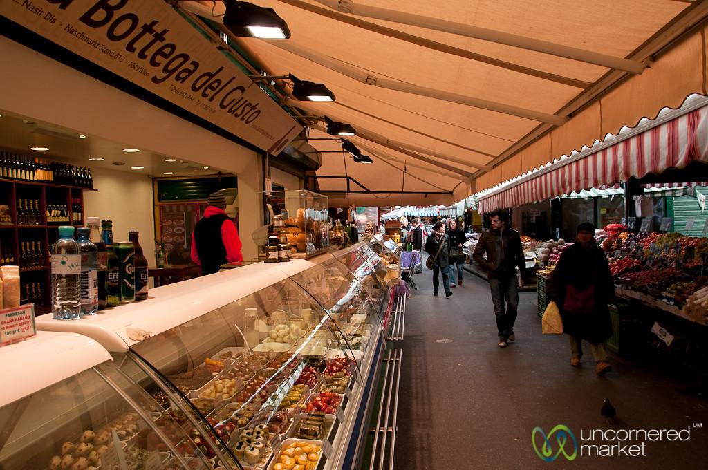 Endless Deli Choices at the Naschmarkt - Vienna, Austria