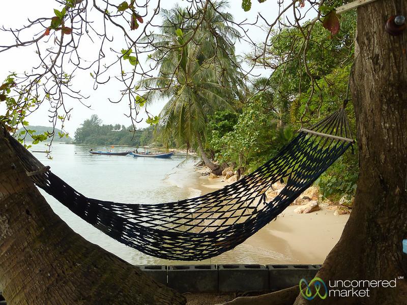 A Hammock to Relax on Beach - Koh Samui, Thailand