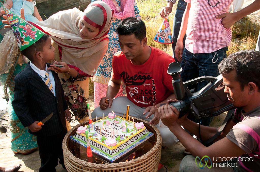 Birthday Party for Bangladeshi Boy - Srimongal, Bangladesh