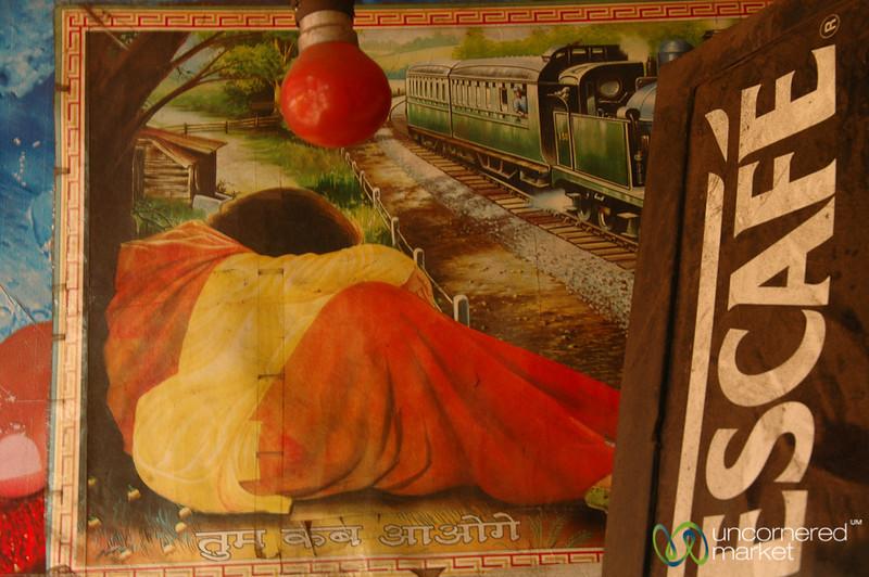 Nescafe & Sleeping by the Tracks - Kolkata, India