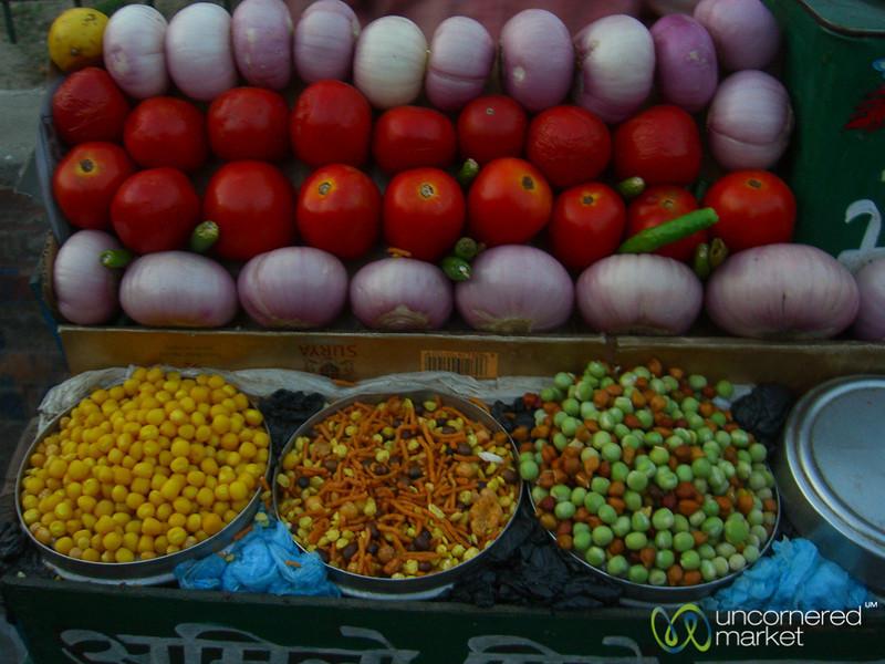 Makings for a Snack - Kathmandu, Nepal