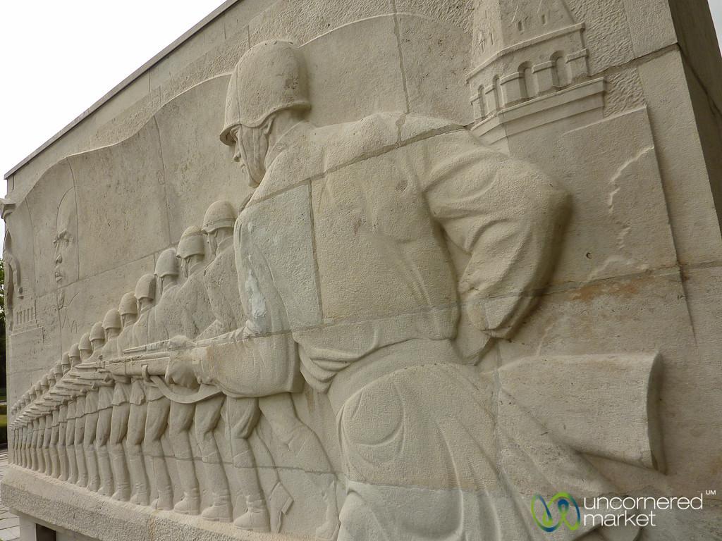Soviet War Memorial at Treptower Park  - Berlin
