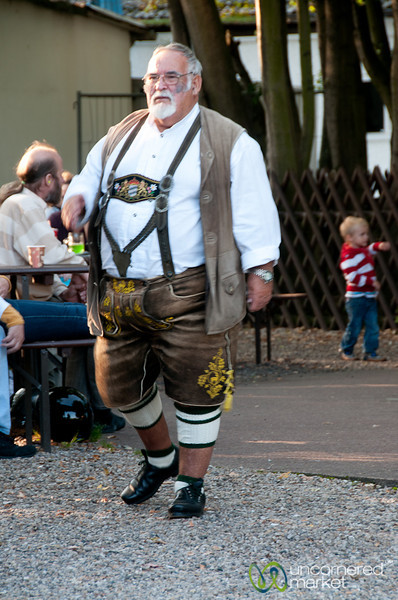 Lederhosen at Zenner Inn - Treptower Park, Berlin