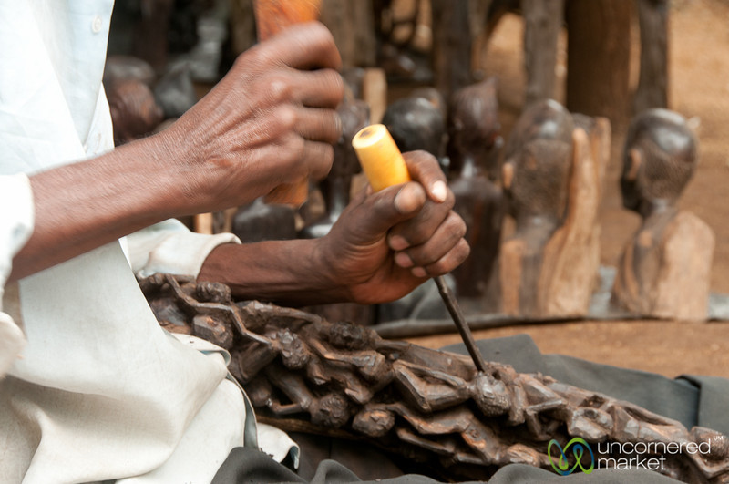 Ebony Wood Carvings - Mto wa Mbu, Tanzania