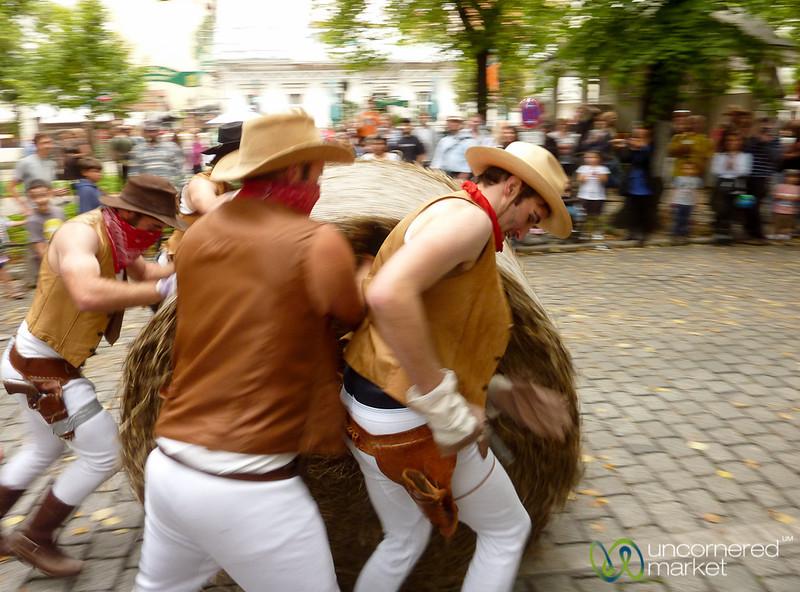 Rixdorf Hay Bale Races - Berlin