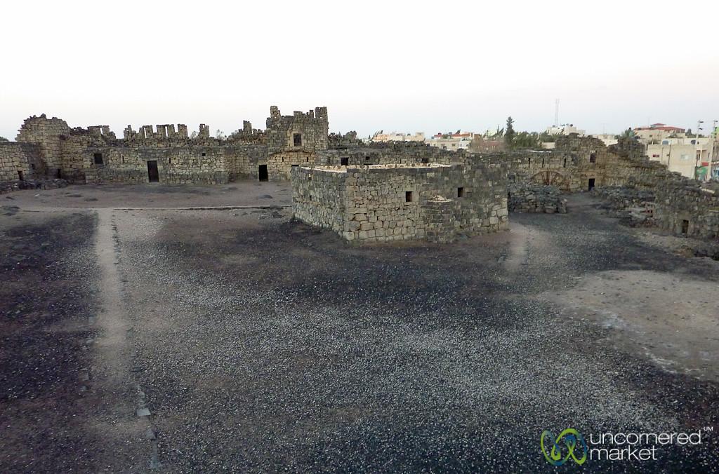 Azraq Castle in Eastern Jordan