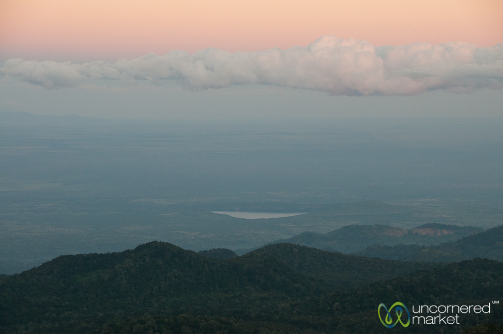 Dusk in the Valley Near Mt. Kilimanjaro, Tanzania