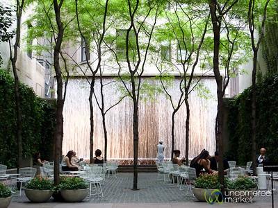 Peaceful City Garden - New York City
