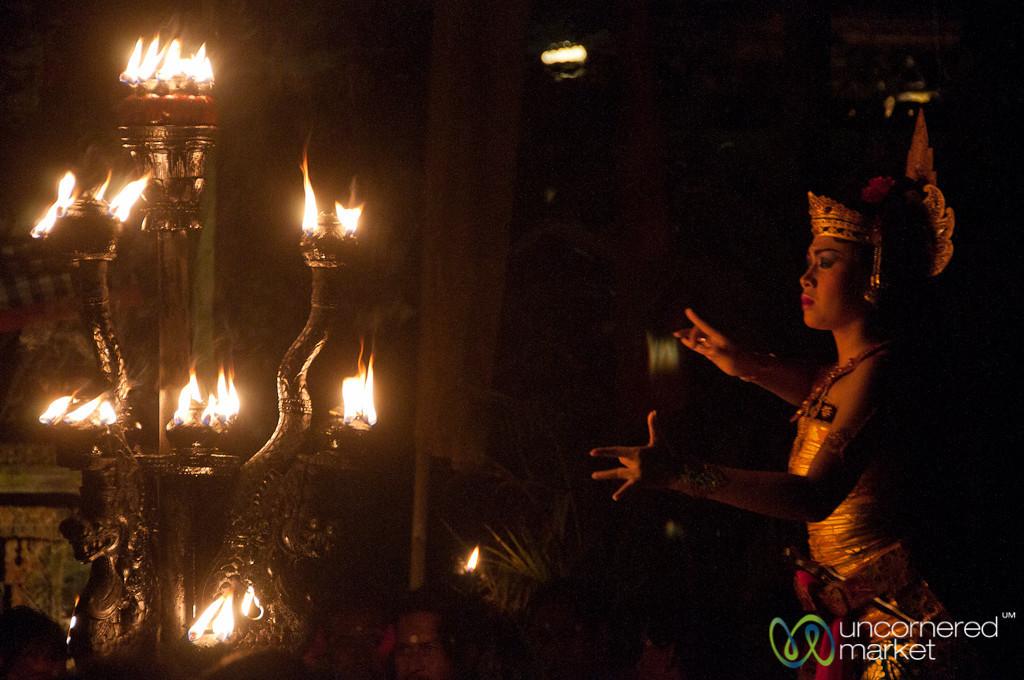 Sita Dancing at Kecak Show - Ubud, Bali