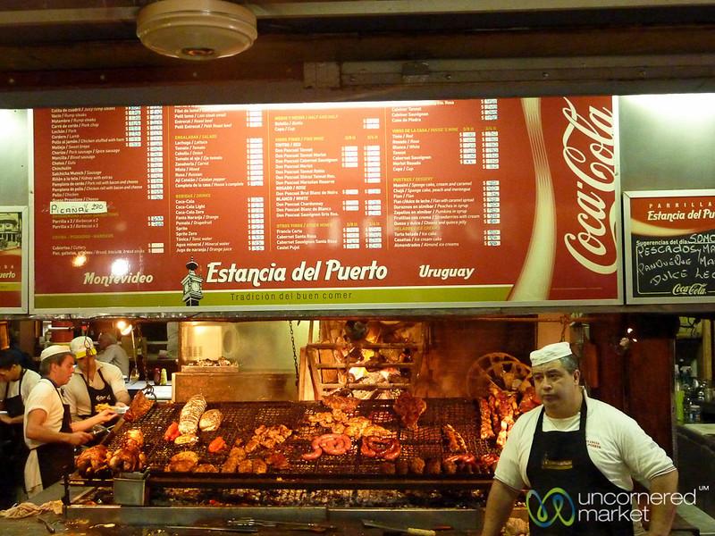 Grilled Meats at Mercado del Puerto - Montevideo, Uruguay