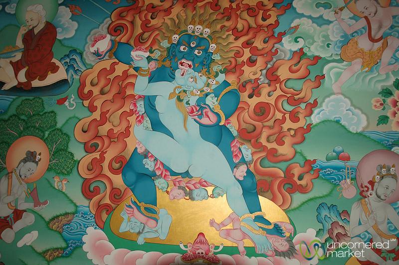 Painting of Padmasambhava - Sikkim