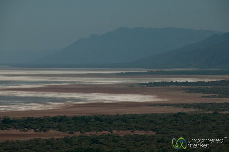 Salt Lakes in Ngorongoro Crater - Tanzania