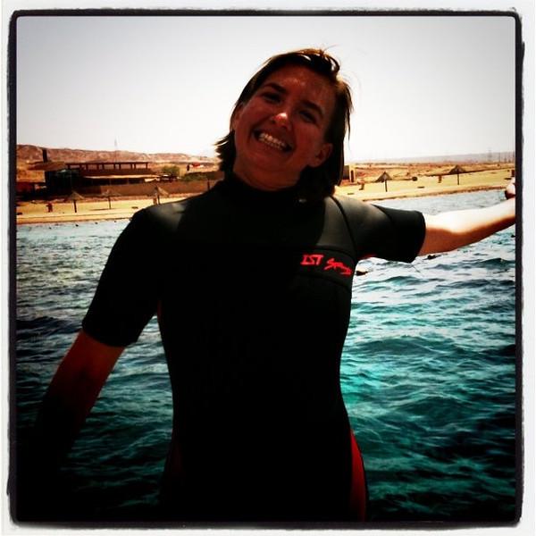 About to start 2nd dive in red sea, Aqaba - Jordan #JO #dna2jordan