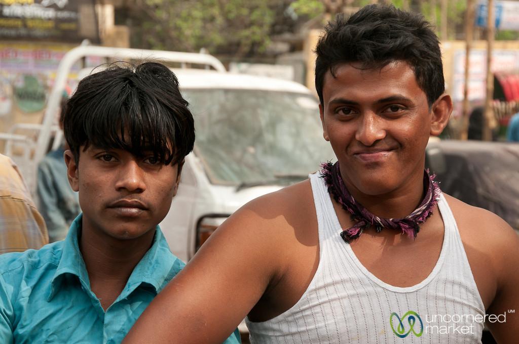 Posing for the Camera in Old Dhaka, Bangladesh