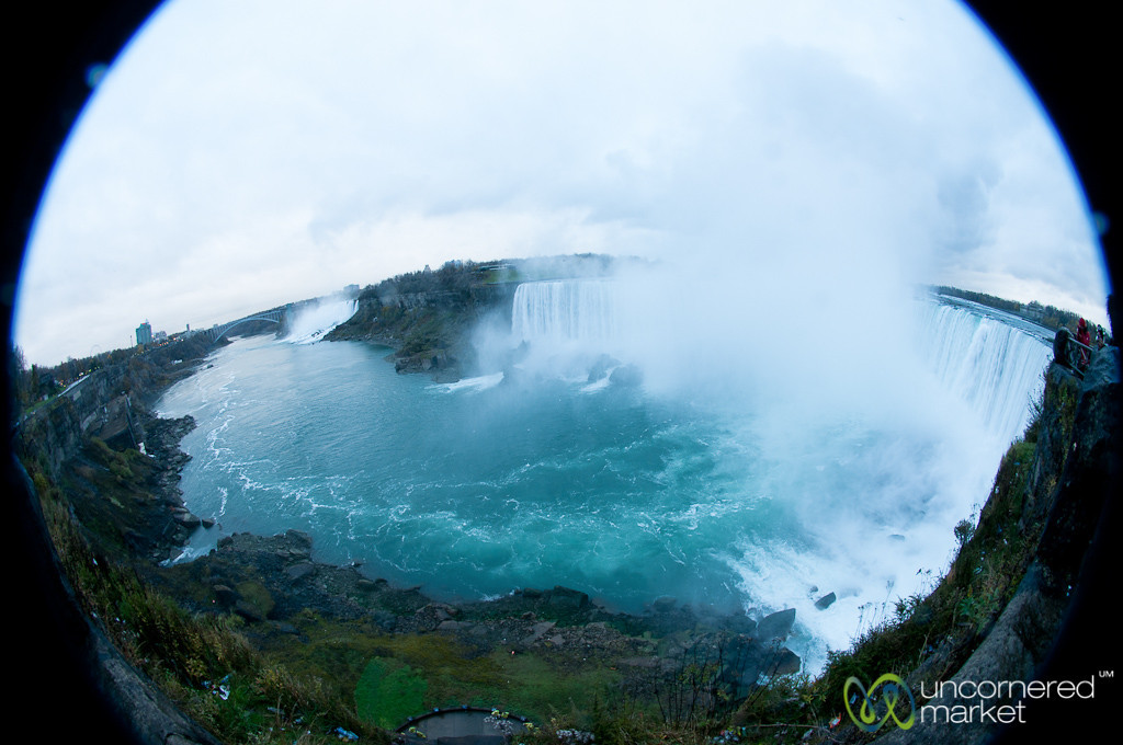 Fisheye View of Niagara Falls - Canada