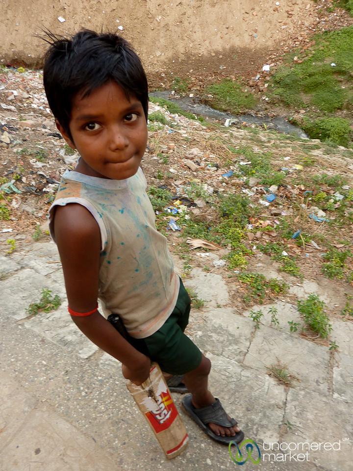 Young Cricket Player - Rajshahi, Bangladesh