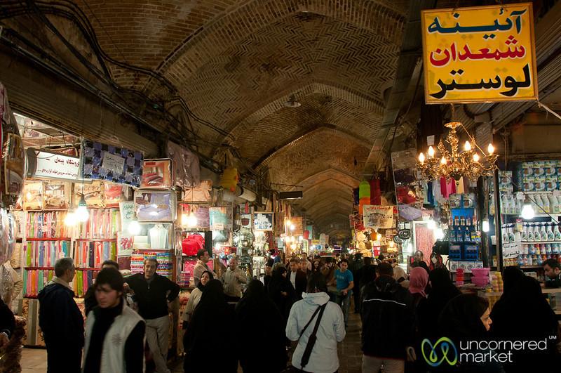 Going Inside Tehran Bazaar - Tehran, Iran
