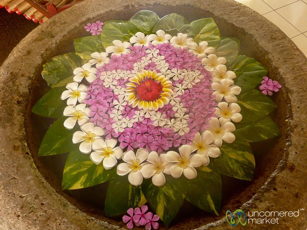 Flower Art - Lovina, Bali