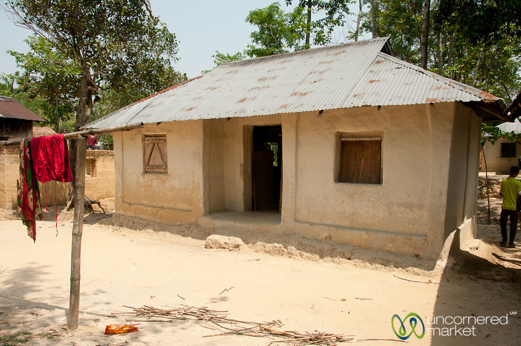 House in a Garo Village - Srimongal, Bangladesh
