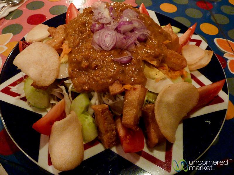 Delicious Gado Gado Salad - Ubud, Bali