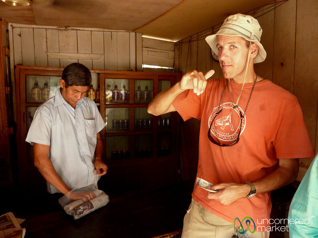 Dan in the Liquor Shop in Rangamati - Bangladesh