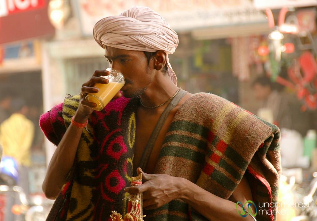 Fresh Juice on the Streets of Bikaner, India