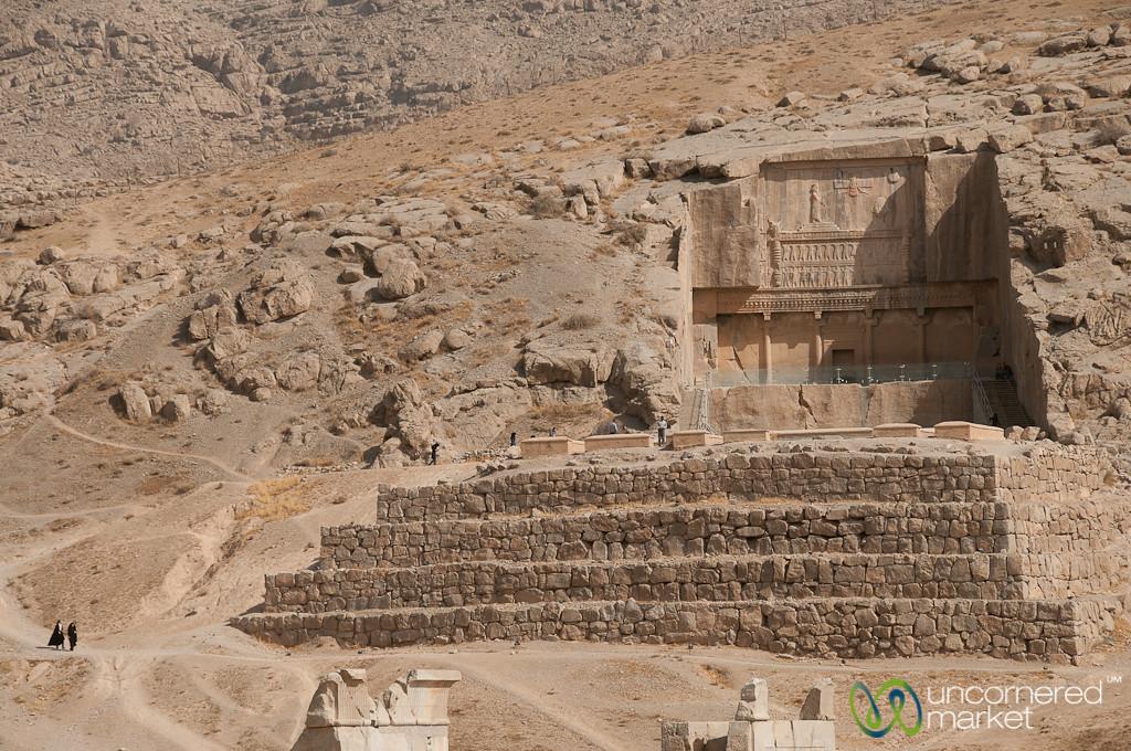 Tombs at Persepolis, Iran