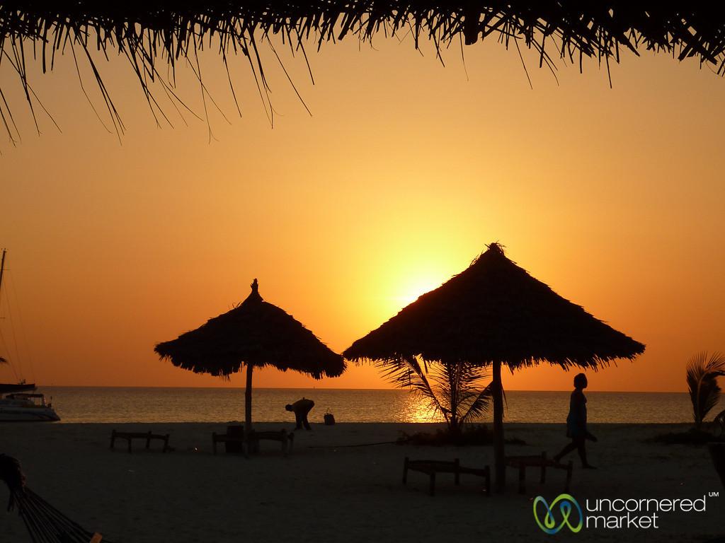 Kendwa Beach at Sunset - Zanzibar, Tanzania