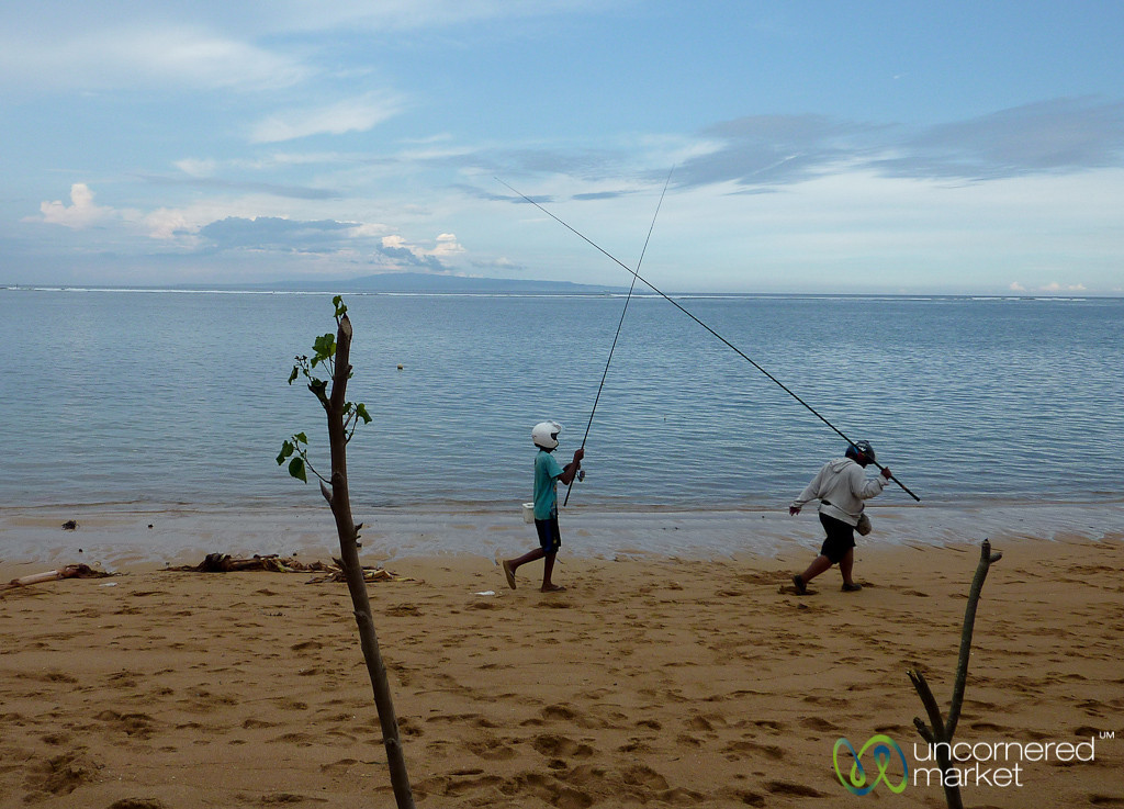Fishing as a Contact Sport - Sanur, Bali