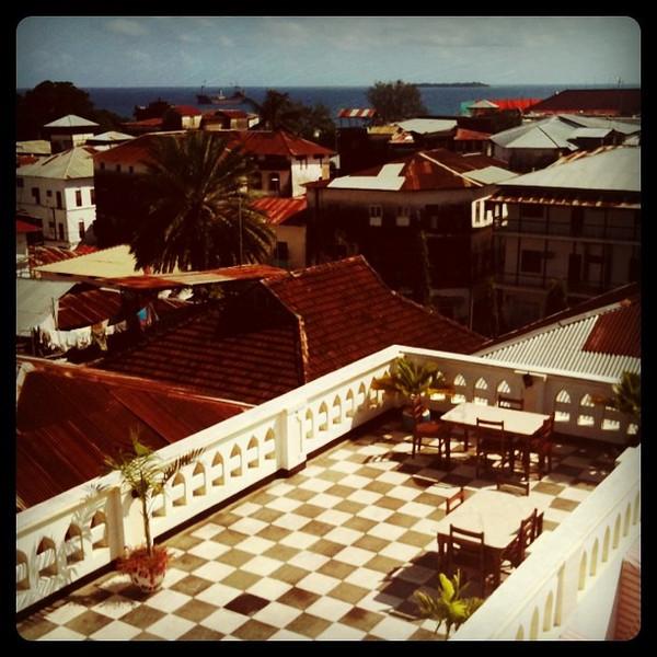 Rooftop View Over Stone Town - Zanzibar, Tanzania