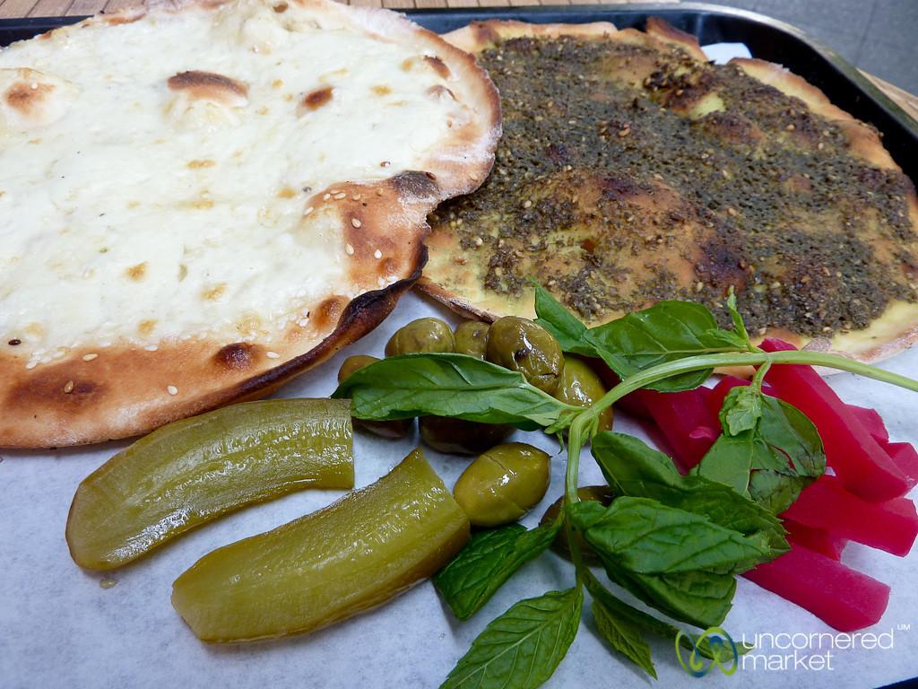 Zaatar and Cheese Manakeesh for €2 - Berlin, Germany