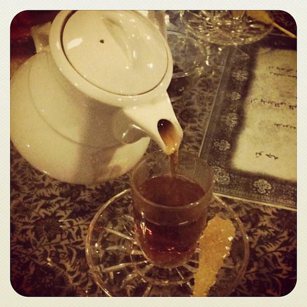 Tea time in Tehran #dna2iran Iran
