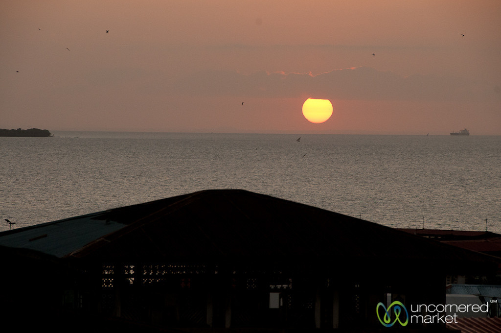 Sunset Over Indian Ocean - Stone Town, Zanzibar