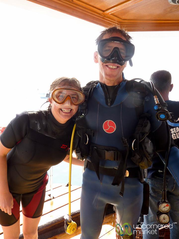 Post-Diving Bliss - Aqaba, Jordan
